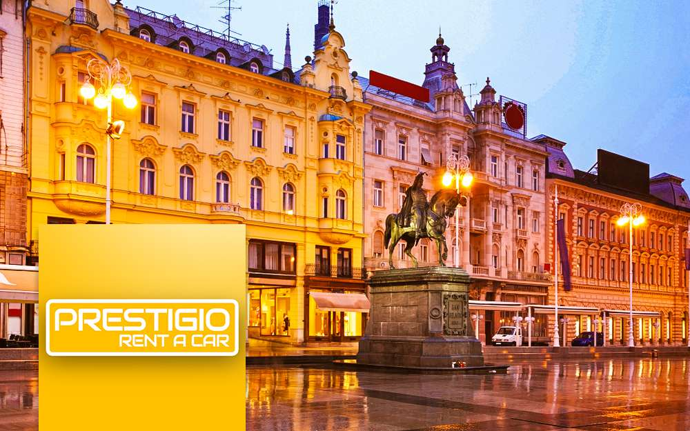 Zagreb Downtown Prestigio Rent A Car Croatia